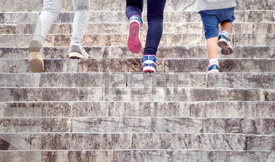 игра развитие По ступеням шаг за шагом
