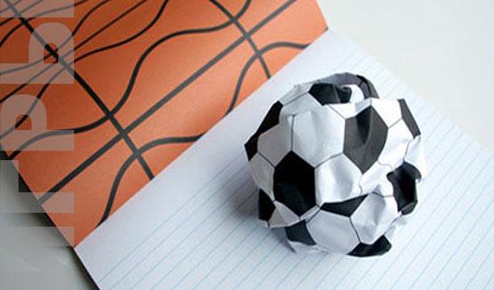игра семья Футбол на бумаге